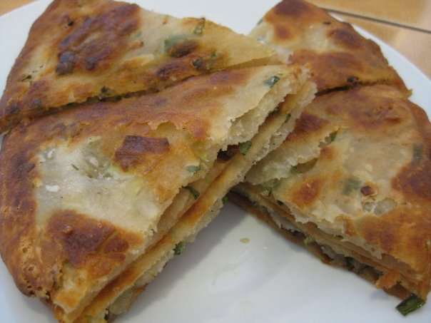 green onion pie