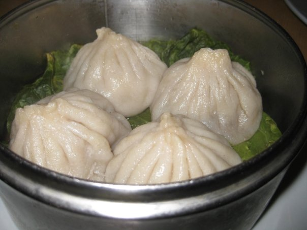 Soup Dumplings at Fufu's Cafe, Houston