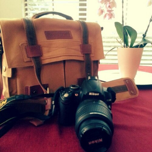My first DSLR and Camera Bag