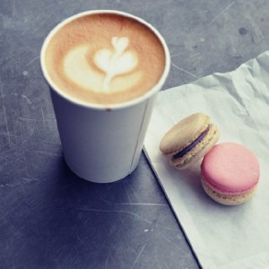 Macaroons and Latte