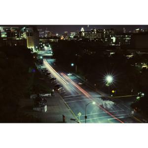 Night Scene on Campus