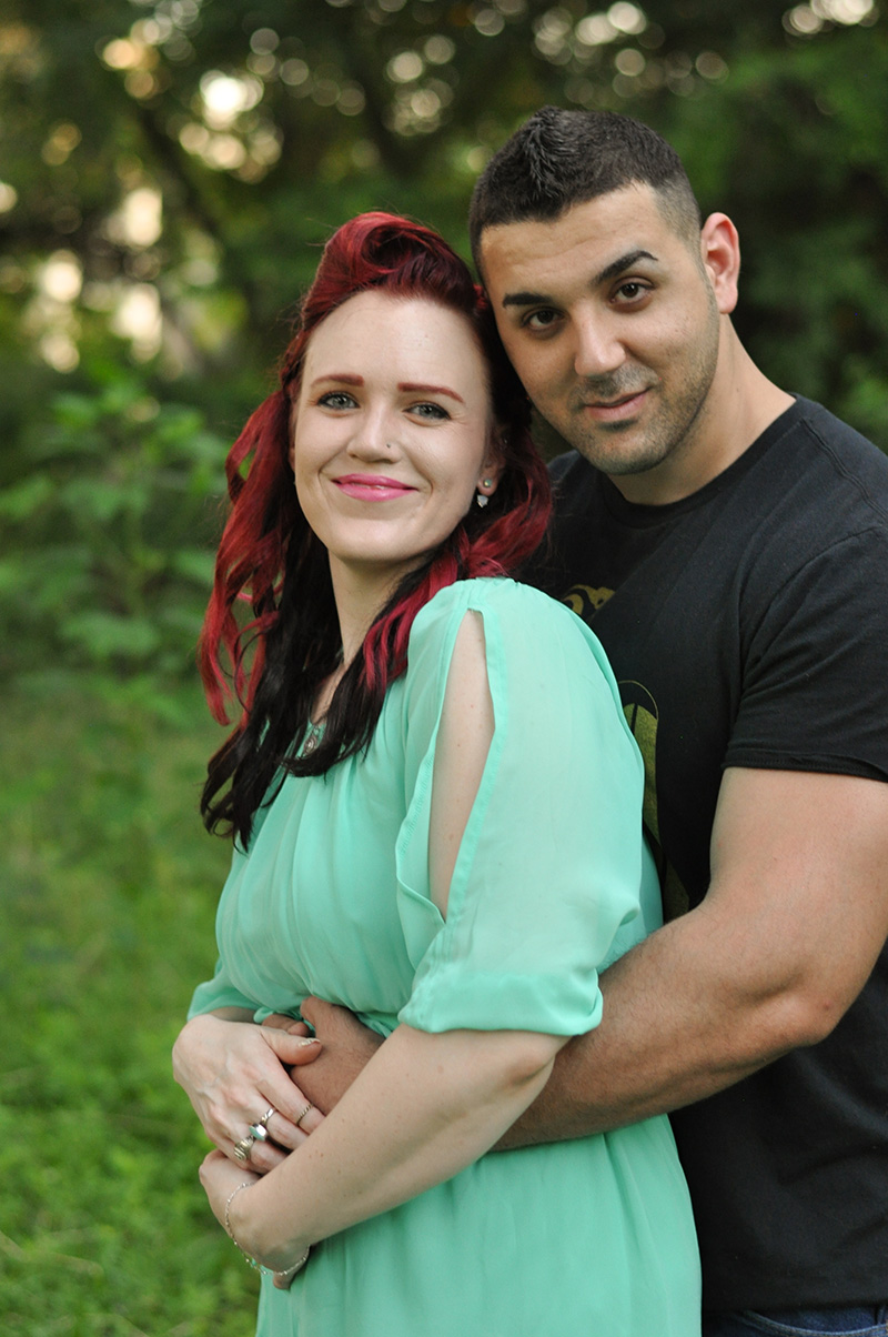 Baby Announcement:  Laura & Milan